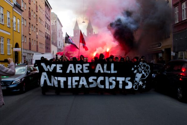 'Vi er alle antifascister' lød parolen fra Revolutionære Antifascister